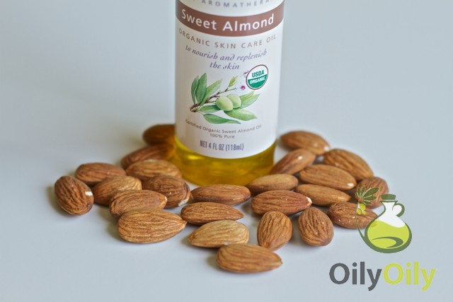 almond oil for babies