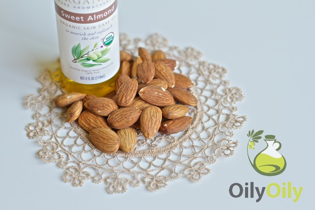 almond oil skin whitening