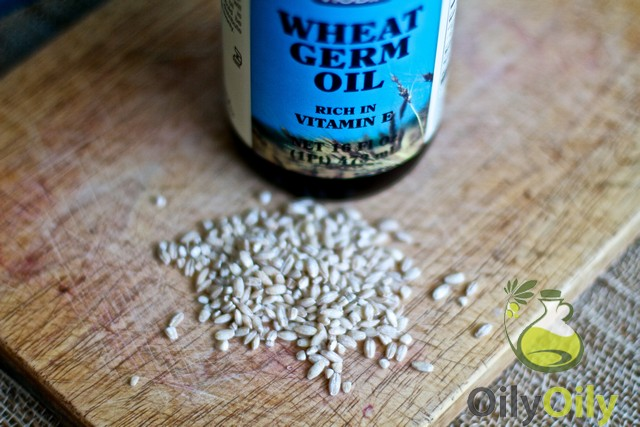 wheat germ oil for scars