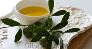 drinking olive oil