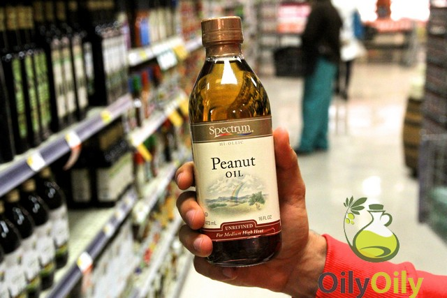 peanut oil vs canola oil