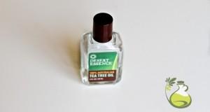 tea tree oil acne